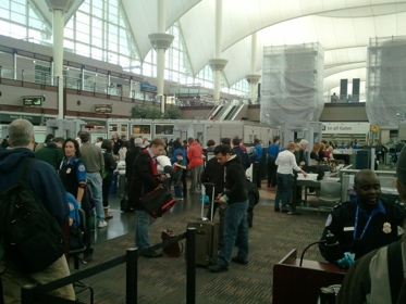 Security Line, Denver Airport (DEN)