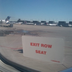 Exit Row Window Seat