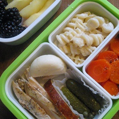 Healthy lunch idea, Bento Style