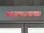 TerminaLink, Next Train 60 Sec