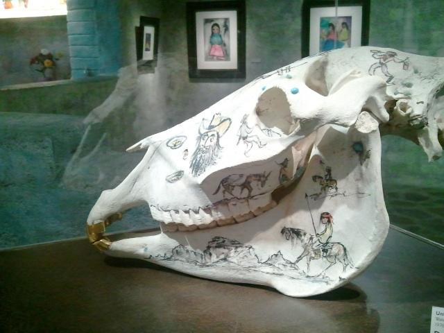 DeGrazia - Skull