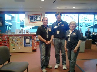 Bruce Conklin, Volunteer Coordinator; Scott & Winnie