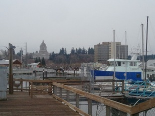 State Capitol Building from Budd Bay