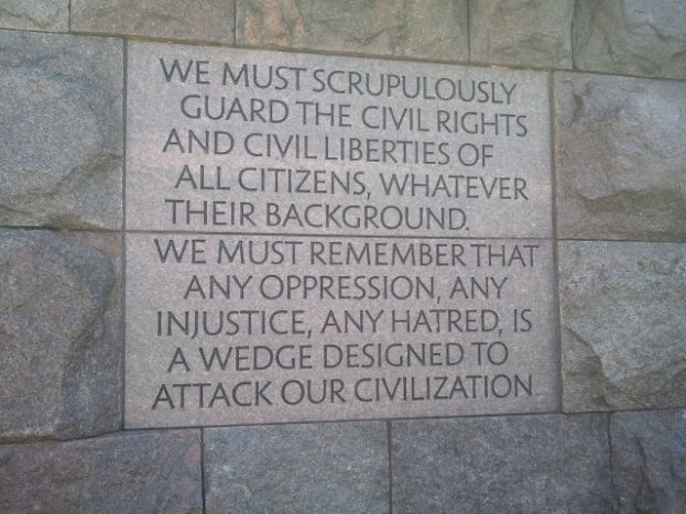 We must scrupulously guard the civil rights and civil liberties of all citizens