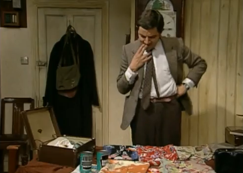 Mr. Bean - Packing for Holiday