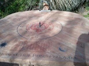 Sundial at Arizona-Sonora Desert Museum