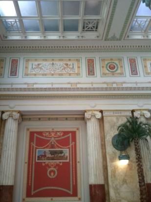 East Hall - columns