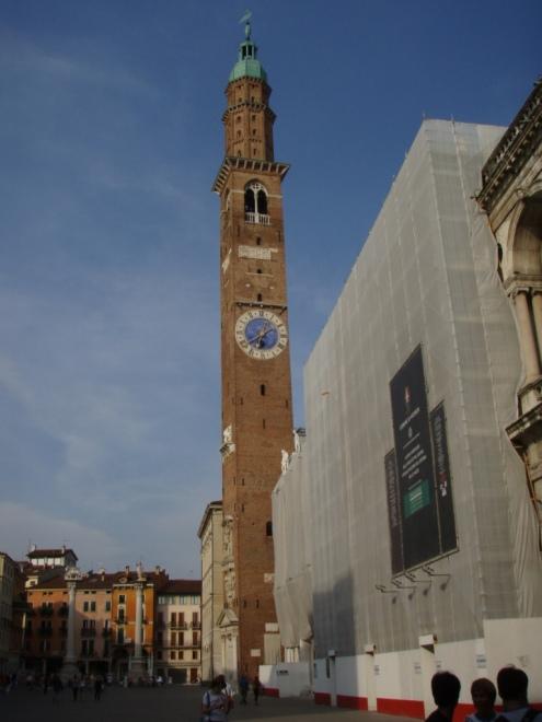 Vicenza Plaza Clock Tower