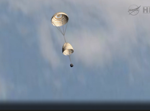 Simulated parachute deployment