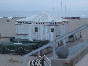 The Terramar is an upscale hotel across the street. with a restaurant famous for seafood dishes.